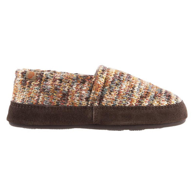 Women's Original Acorn Moccasins in Sunset Cable Knit Profile