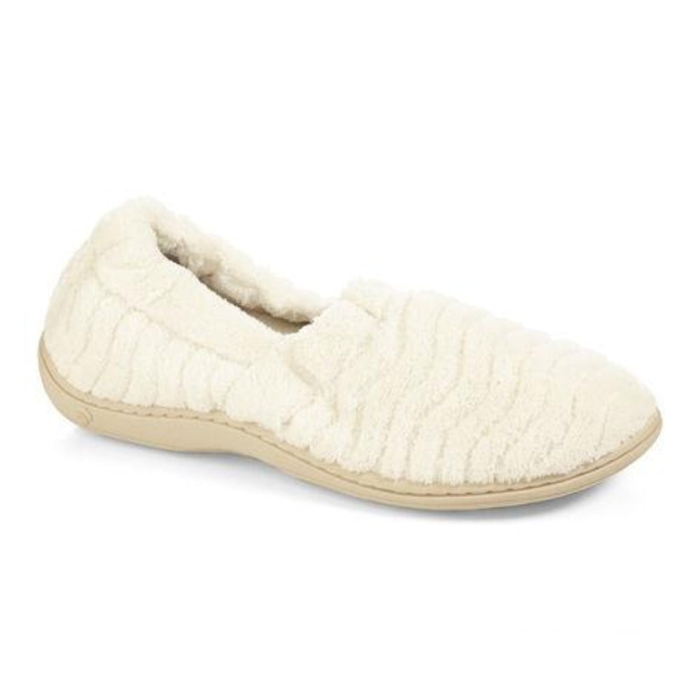 Women's Spa Moc Slippers in Natural