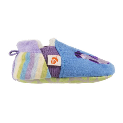Toddler's Easy-On Animal Slippers in Ocean Blue Otter Profile
