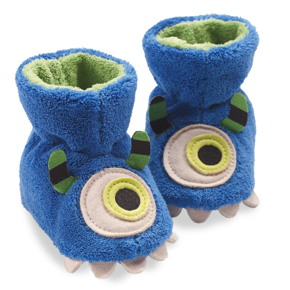 Toddler's Critter Booties Pair in Monster