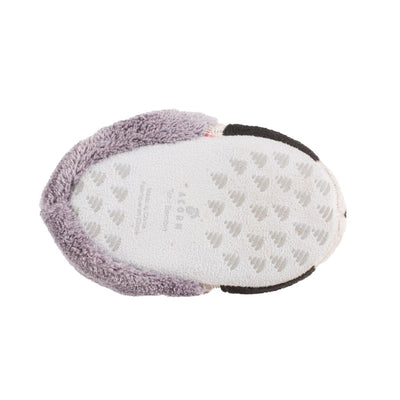 Toddler's Critter Booties in Raccoon Bottom Sole Tread