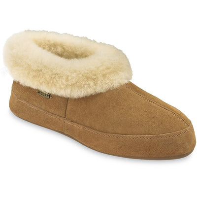 Women's Oh Ewe Boot Slippers in Walnut Right Angled View