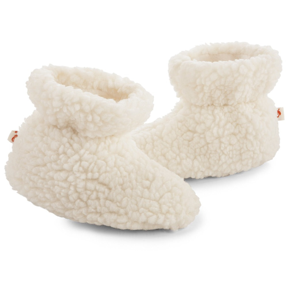 Brown Bear Acorn Slipper