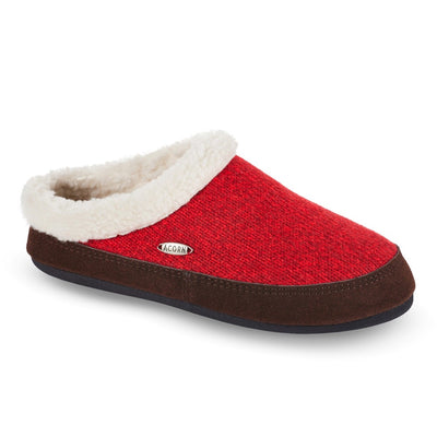 Red Acorn Slipper