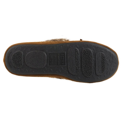Acorn Womens Faux Fur Moc Outsole View