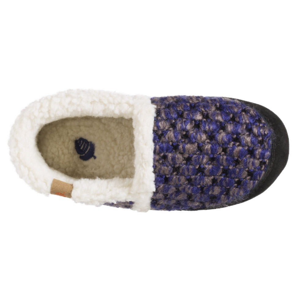 Raspberry Acorn Slipper