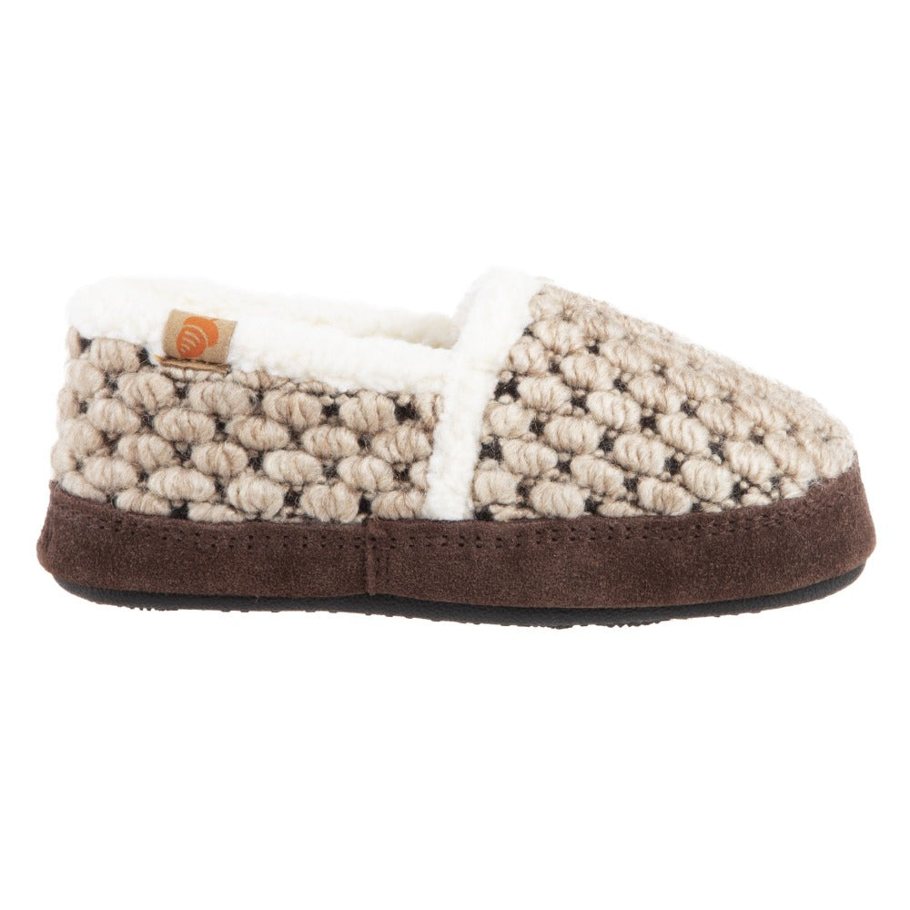 Pebble Diamond Acorn Slipper