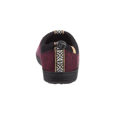 Garnet Heather Acorn Slipper back angle