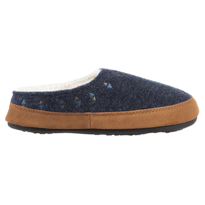 Acorn Women's Geo Hoodback Slipper Navy BlueSide View