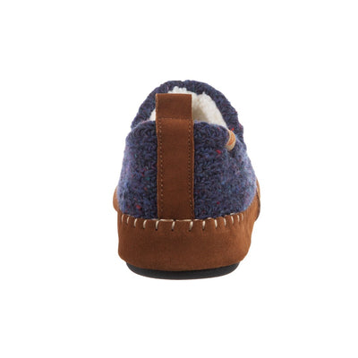 Acorn Camden Recycled Yarn Slipper Navy Back View