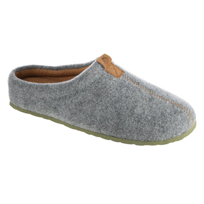 Women's Parker Hoodback Slipper + BLOOM™ in Ash Grey Right Angled View
