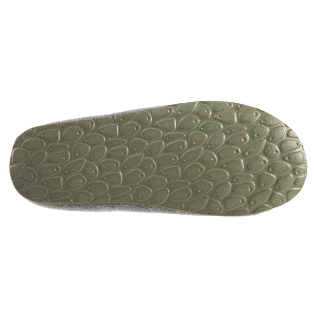 Women's Parker Hoodback Slipper + BLOOM™ in Ash Grey Bottom Sole Tread