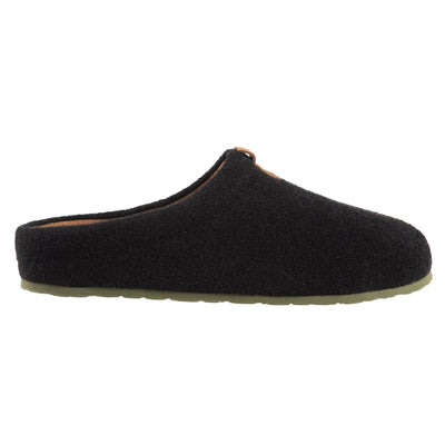 Men's Parker Hoodback Slipper + BLOOM™ in Black Profile