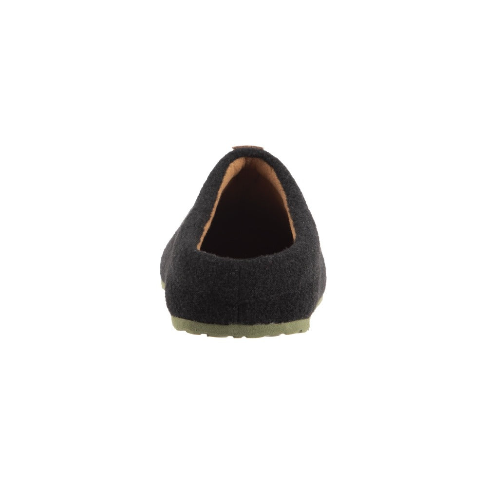 Men's Parker Hoodback Slipper + BLOOM™ in Black Back Heel