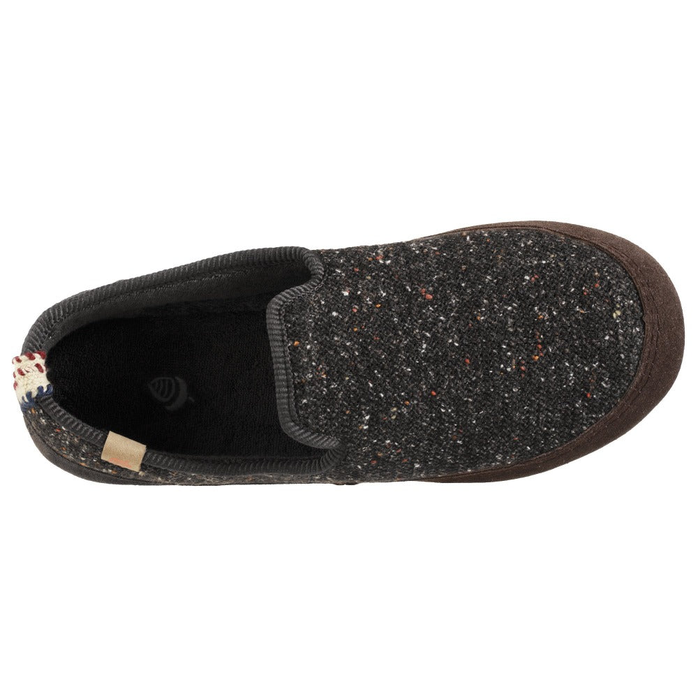 Women's Lightweight Bristol Loafer in Black Profile Inside Top View