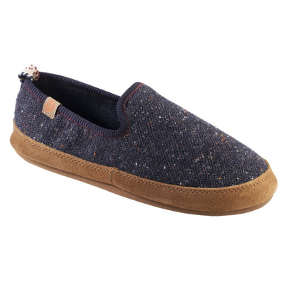 Women's Lightweight Bristol Loafer in Navy Blue Right Angled View