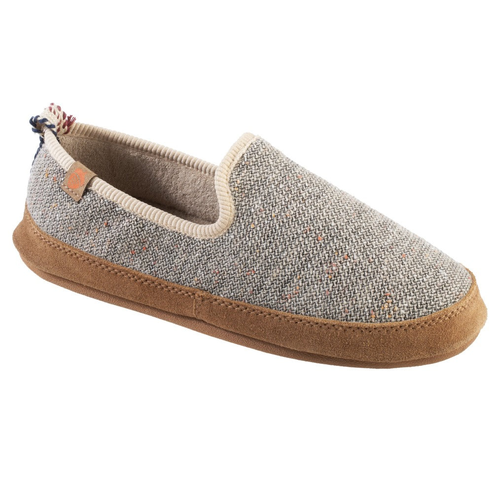 Women's Lightweight Bristol Loafer in Pebble Right Angled View