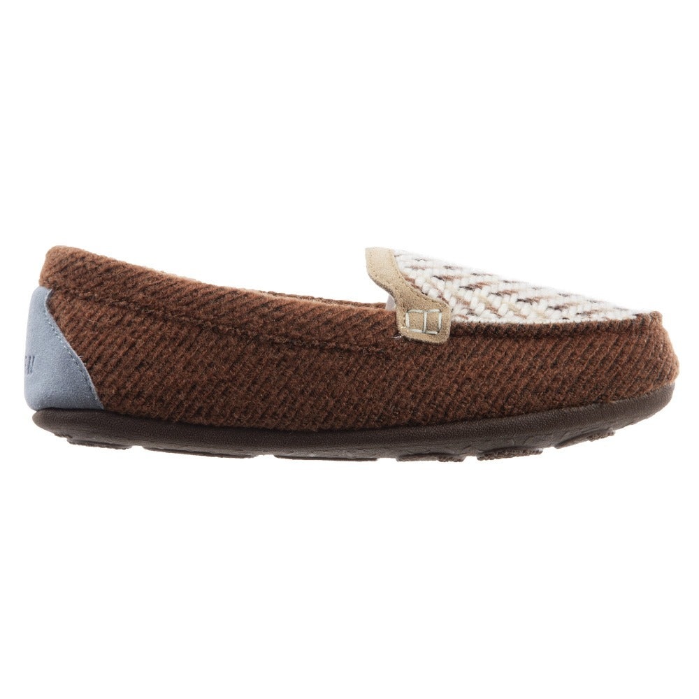Women's Andover Driver Moc Slipper in Buckskin Profile