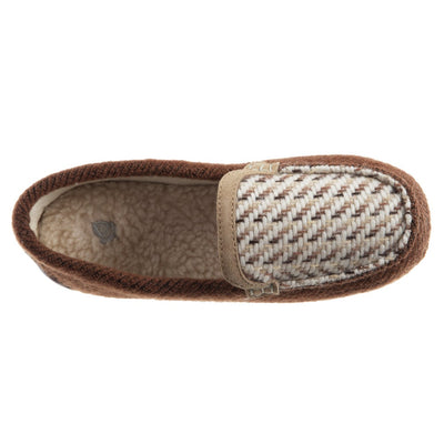 Women's Andover Driver Moc Slipper in Buckskin Inside Top View
