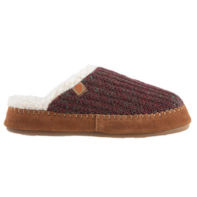 Women's Recycled Camden Clog in Garnet Profile