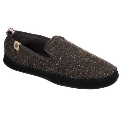 Men's Lightweight Bristol Loafer in Black Right Angled Shot