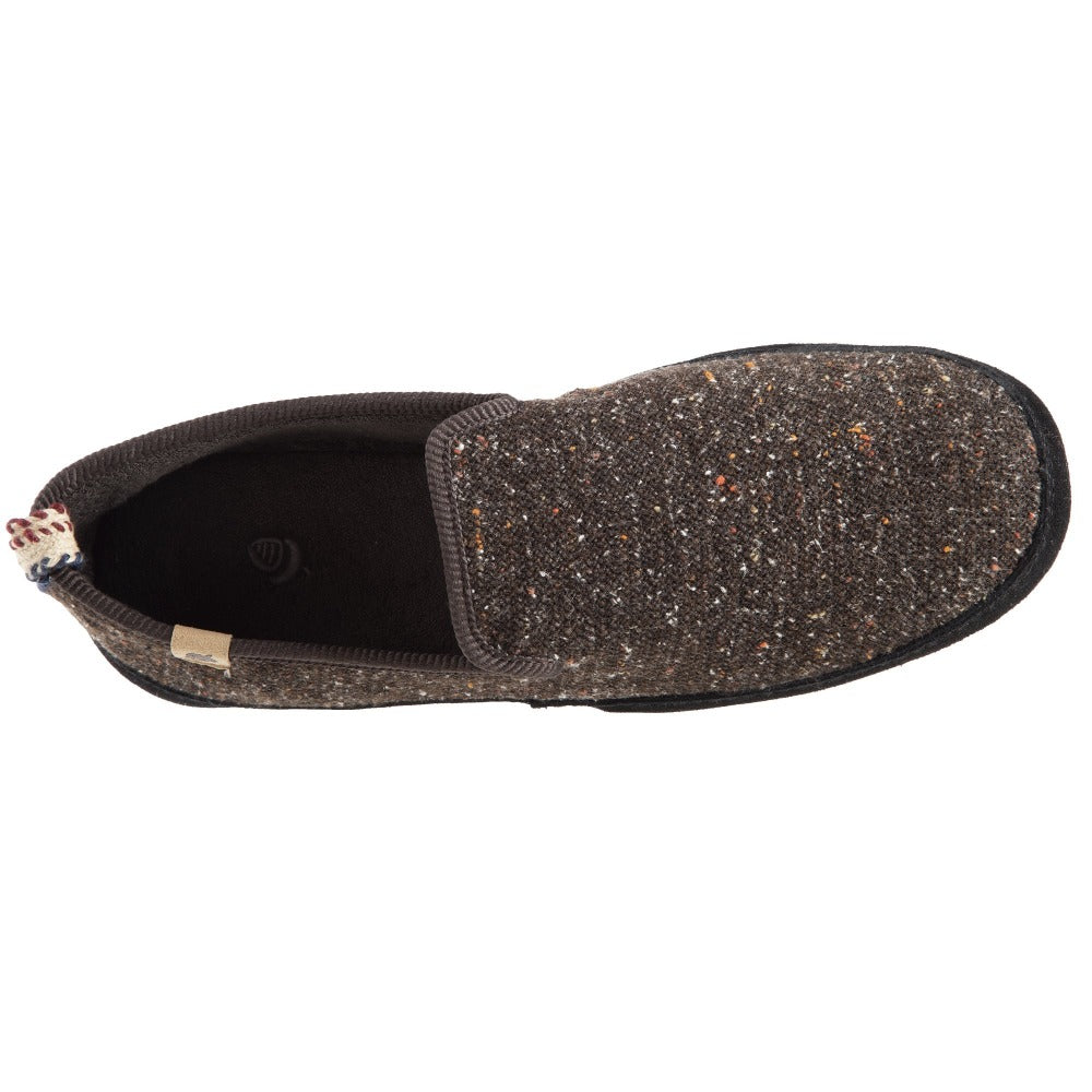 Men's Lightweight Bristol Loafer in Black Inside Top View