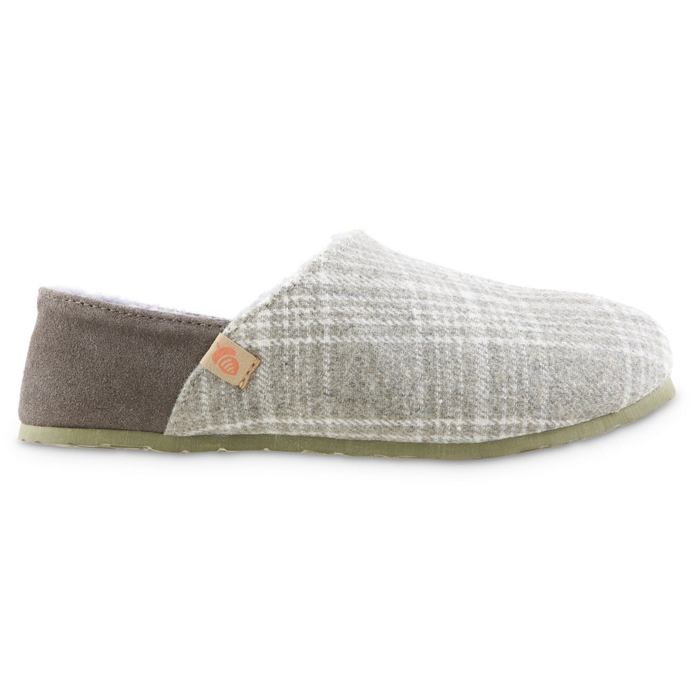 Women's Algae-Infused Parker Slippers in Grey Profile