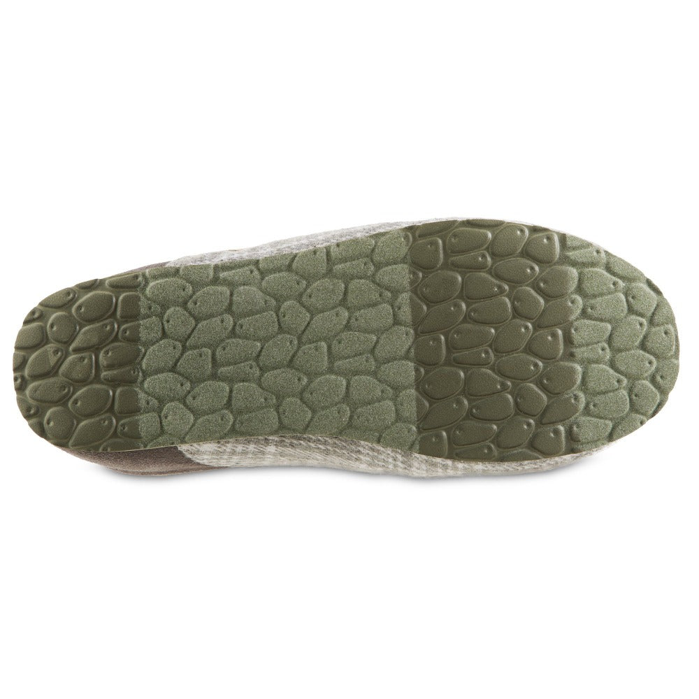 Women's Algae-Infused Parker Slippers in Grey Bottom Sole Tread