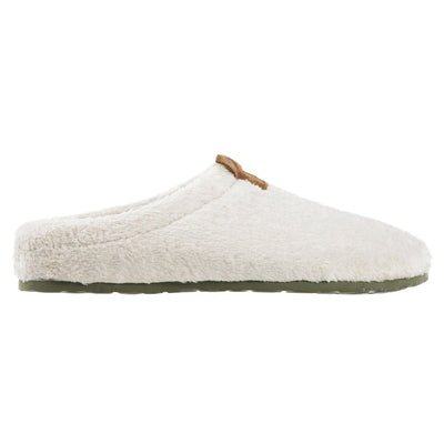 Women's Algae-Infused Spa Slippers in Ewe Profile