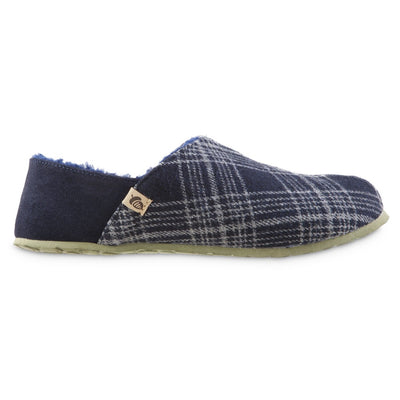 Men's Algae-Infused Parker Slippers in Navy Profile