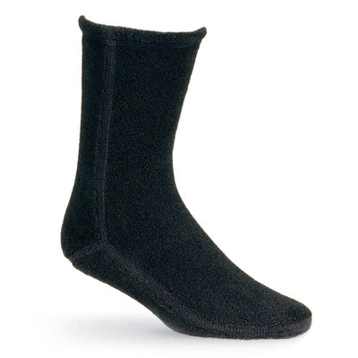 Versafit Fleece Cabin Socks in Black