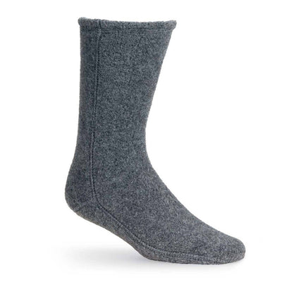 Versafit Fleece Cabin Socks in Charcoal