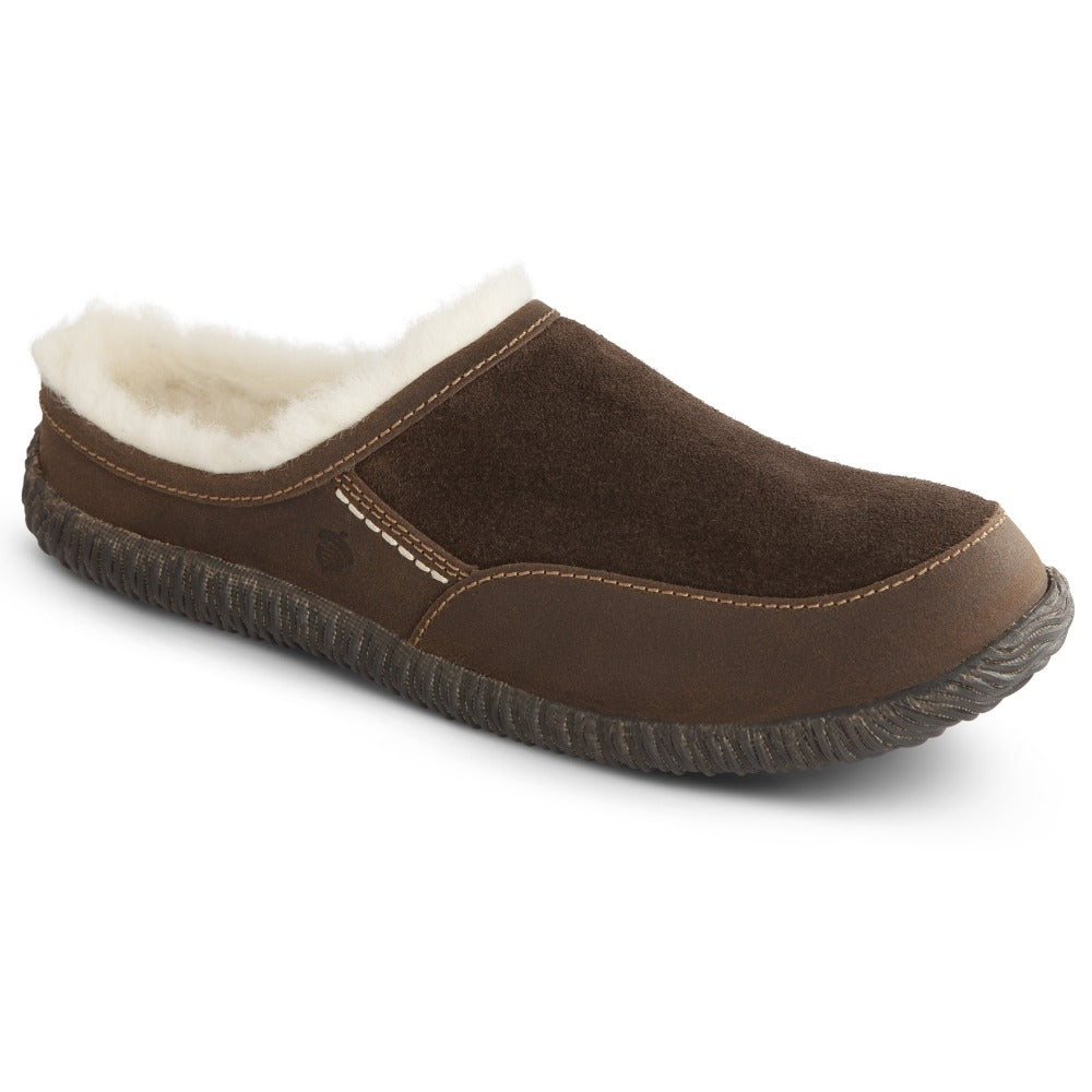 Acorn Rambler Slide in Chocolate Profile View