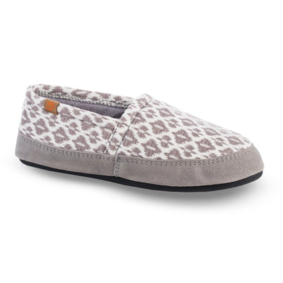 Women's Summerweight Moccasins in Ash Right Angled View