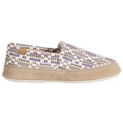 Women's Summerweight Moccasins in Pebble Profile