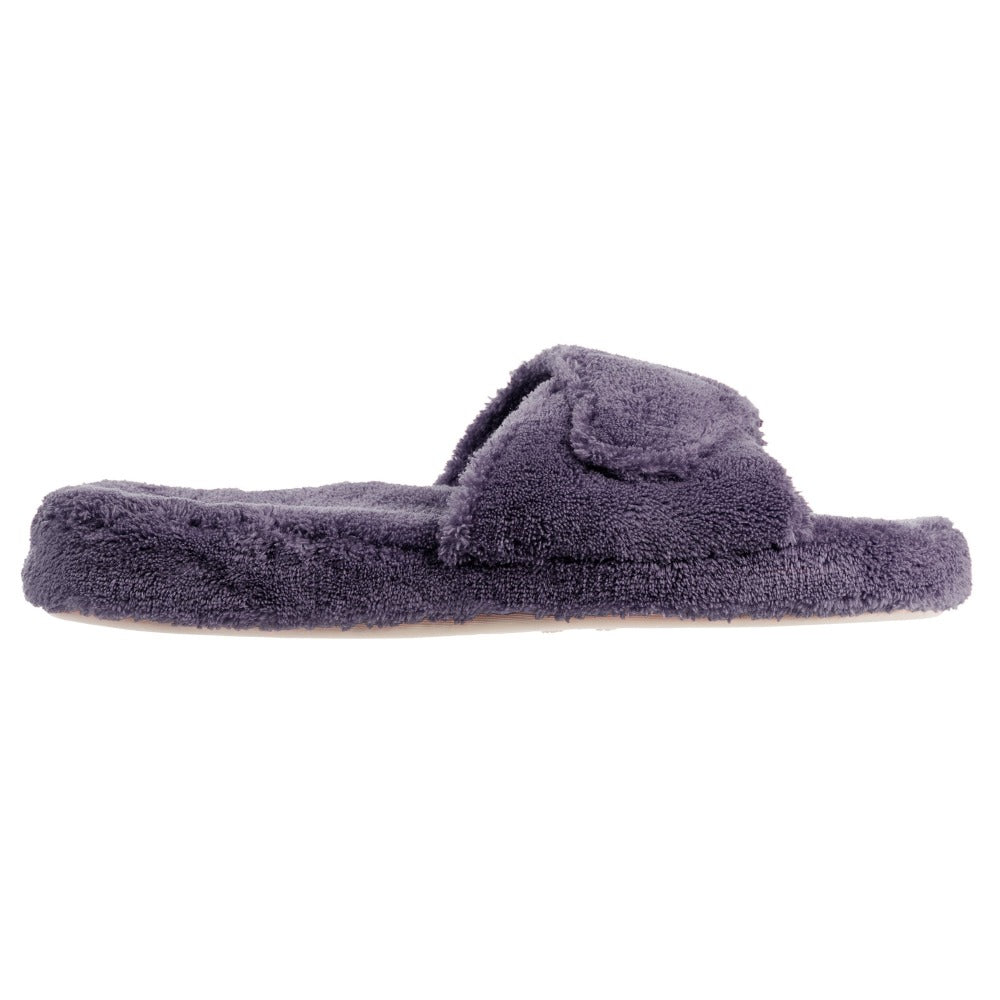 Women's Spa Slide Slippers in Ink Profile