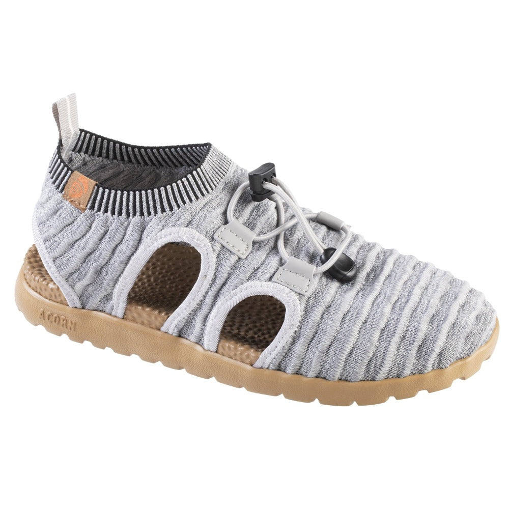 Acorn Casco Active Sandal in Heather Grey Right Angle View