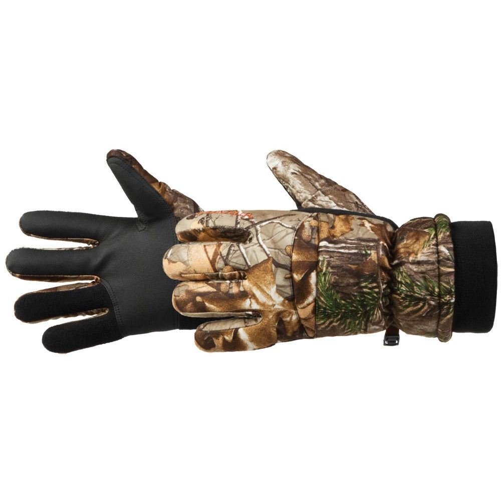 Men's Insulated Tricot Hunting Glove Pair Side Profile