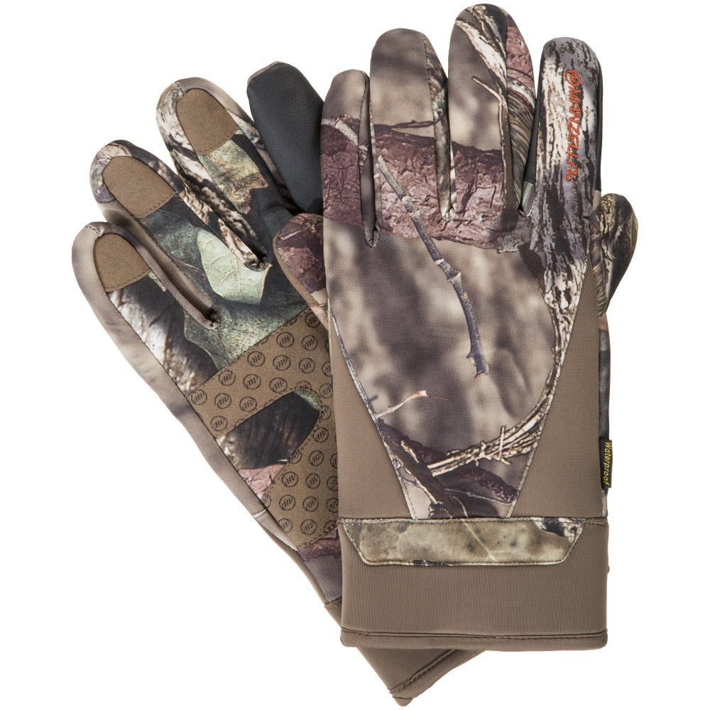 Men's Coyote TouchTip Gloves in MO Country Pair Straight On View