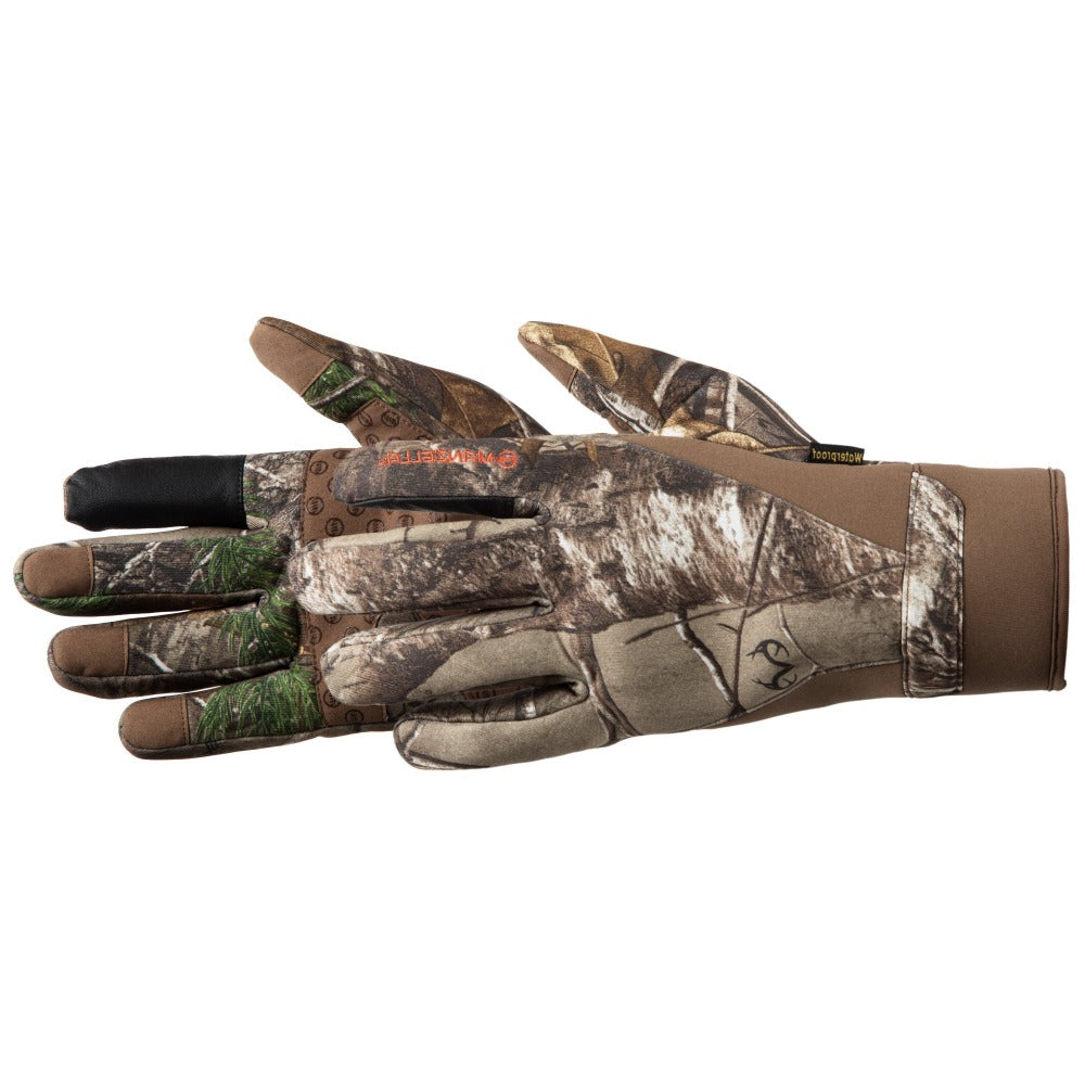 Men's Coyote TouchTip Gloves in Realtree Xtra Pair Side Profile