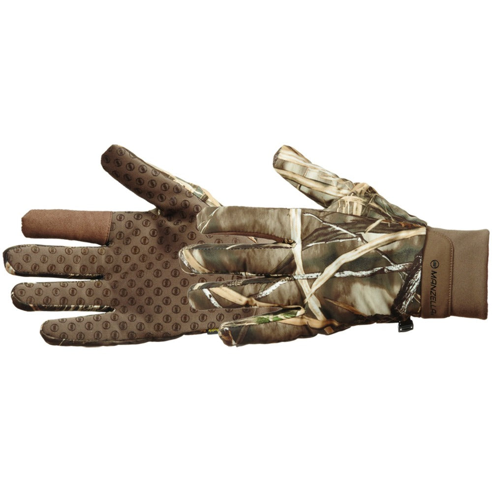 Men's Waterfowl Hunting Gloves Pair Side Profile
