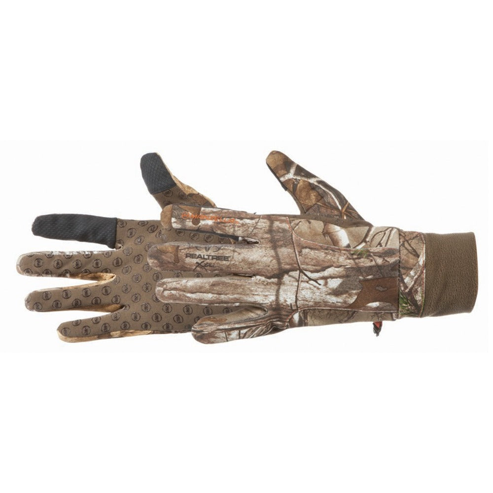 Men's Forester ST Touchtip Gloves in Realtree Xtra Pair Side View