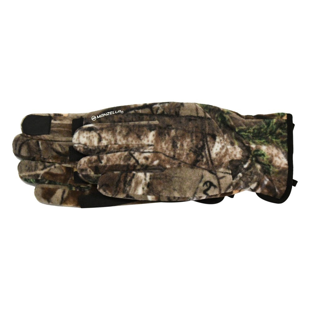 Men's Lakewood TouchTip Gloves in RealXtree Camo side profile