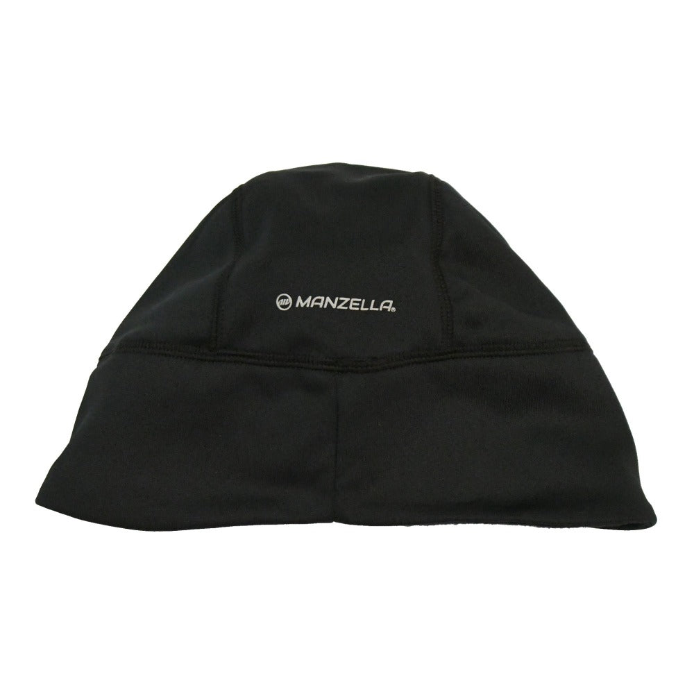 Men's Elite Beanie in Black Back view