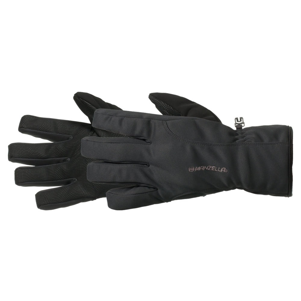 Men's Versatile Outdoor Gloves pair in black side profile