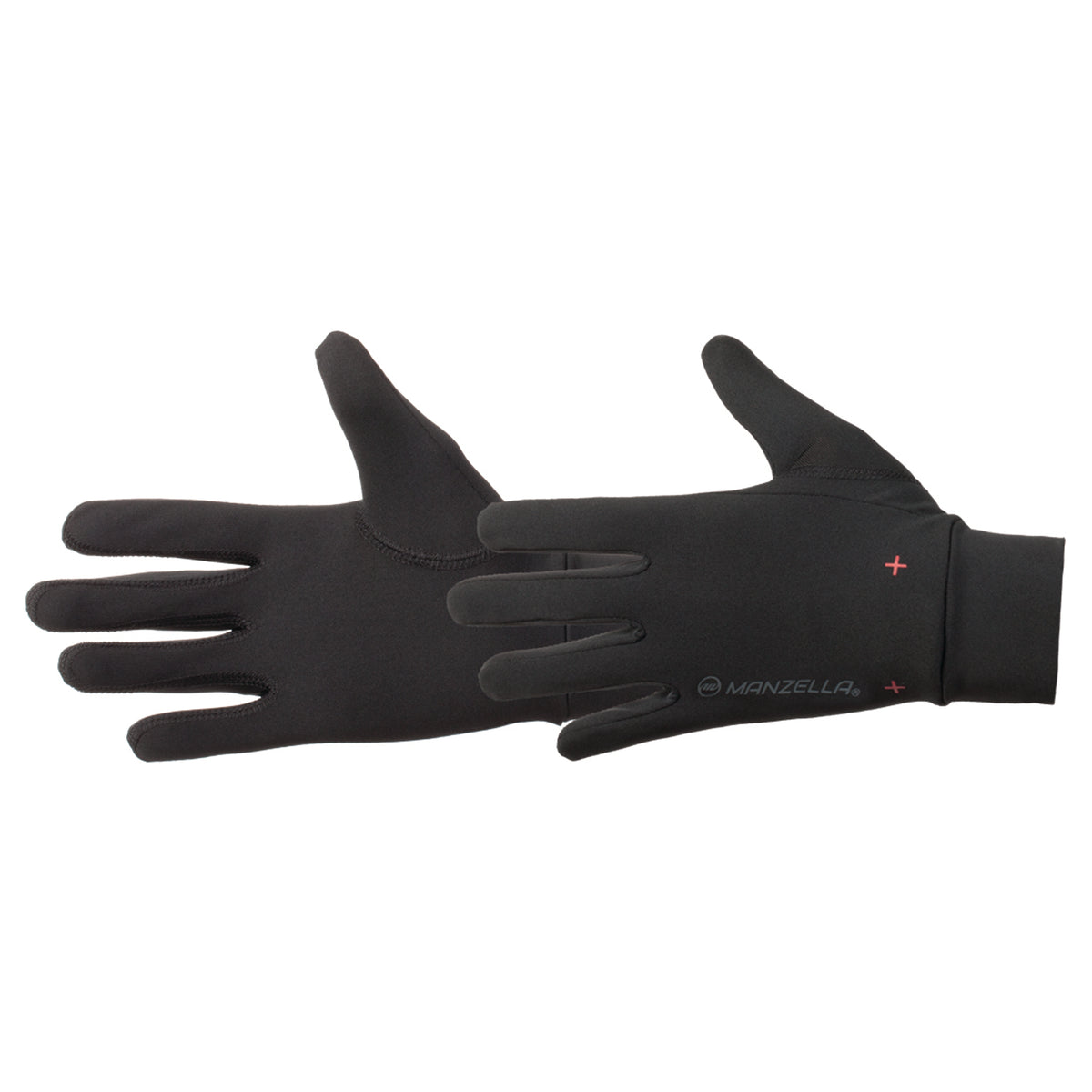Men's Ultra Max Liner Outdoor Glove pairs  in black side profile