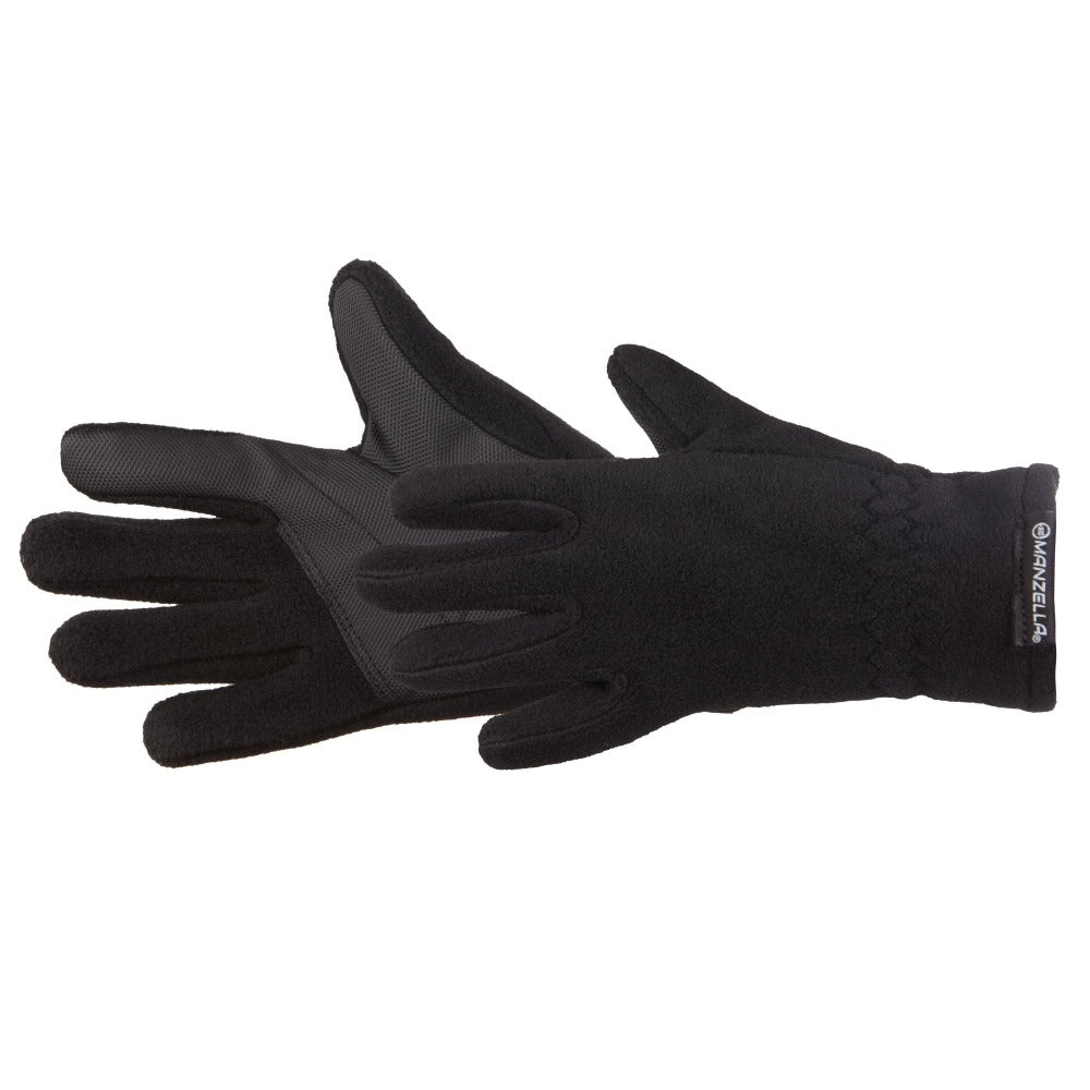 Kids Tahoe Jr Outdoor Gloves in Black Pair Side Profile