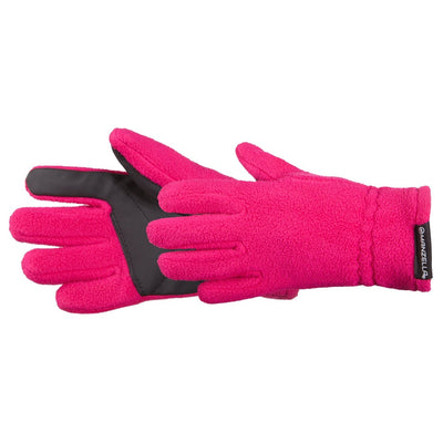 Kids Tahoe Jr Outdoor Gloves in Pink Pair Side Profile