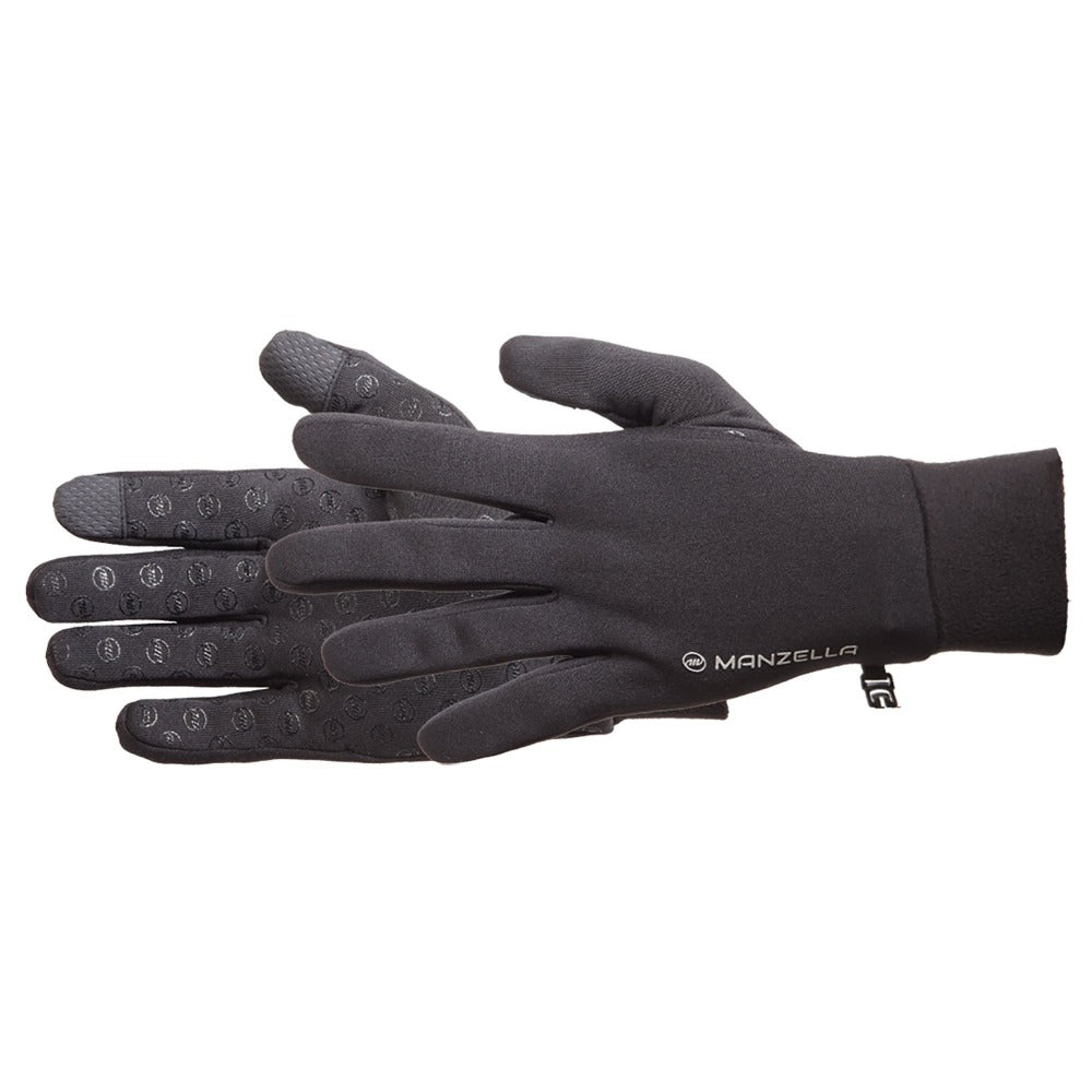 Women's Power Stretch Ultra Touchtip Gloves Pair Side Profile