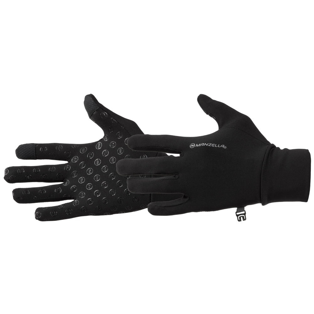 Women's Sprint Ultra Touchtip Uniform Gloves in Black Side Profile